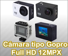 C�mara Tipo Gopro 12MPX